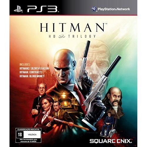 Ps3 - Hitman Trilogy - Nerd e Geek - Presentes Criativos