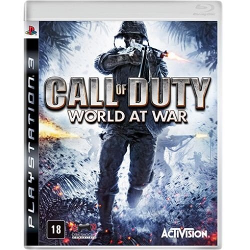 Ps3 - Call Of Duty: World At War - Nerd e Geek - Presentes Criativos
