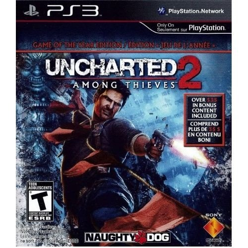 Ps3 Uncharted 2: Among Thieves - Game Of The Year - Nerd e Geek - Presentes Criativos
