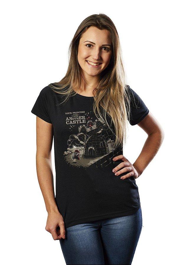 Camiseta Feminina Your Princess Is Another Castle