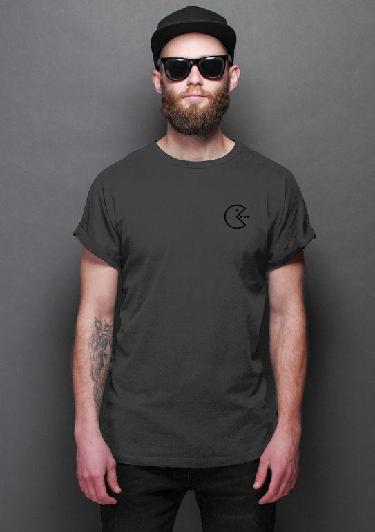 Camiseta Masculina Pac Man Nerd e Geek - Presentes Criativos