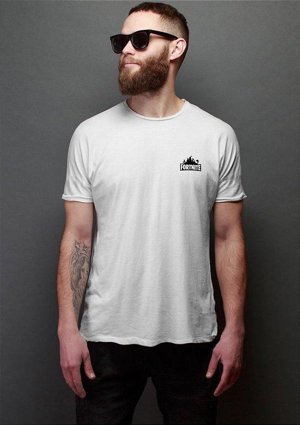 Camiseta Masculina Fortnite Nerd e Geek - Presentes Criativos