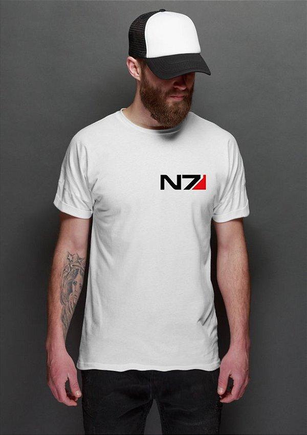 Camiseta Masculina Mass Efecct N7 Nerd e Geek - Presentes Criativos