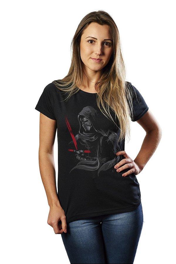 81994a8d8 Star Wars Loja Geek - Camiseta Feminina Darth Vader - Camisetas Nerd ...