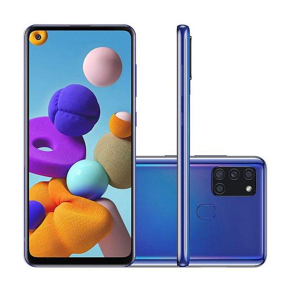 Smartphone Samsung Galaxy A21s 64GB 3GB RAM Azul