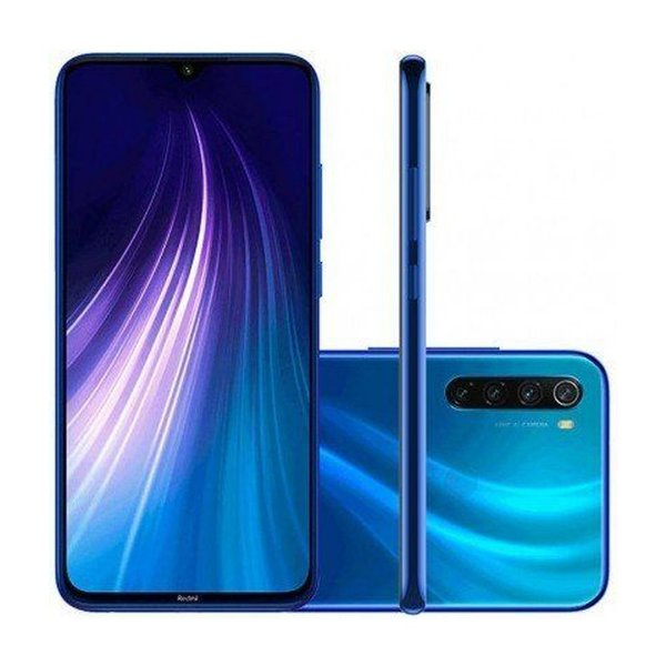 Xiaomi Redmi Note 8 4GB Ram  64GB Camera 48+8+2+2MP-Azul