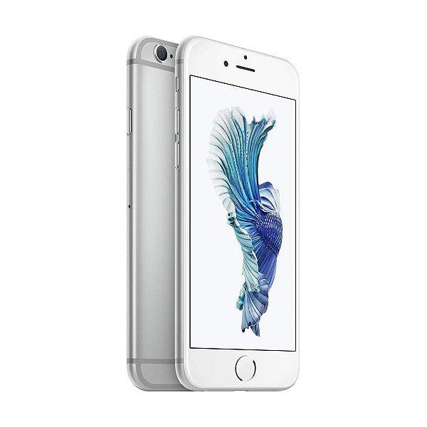 """iPhone 6s 32GB Tela Retina HD 4,7"""" 3D Touch Câmera 12MP - Prata"""