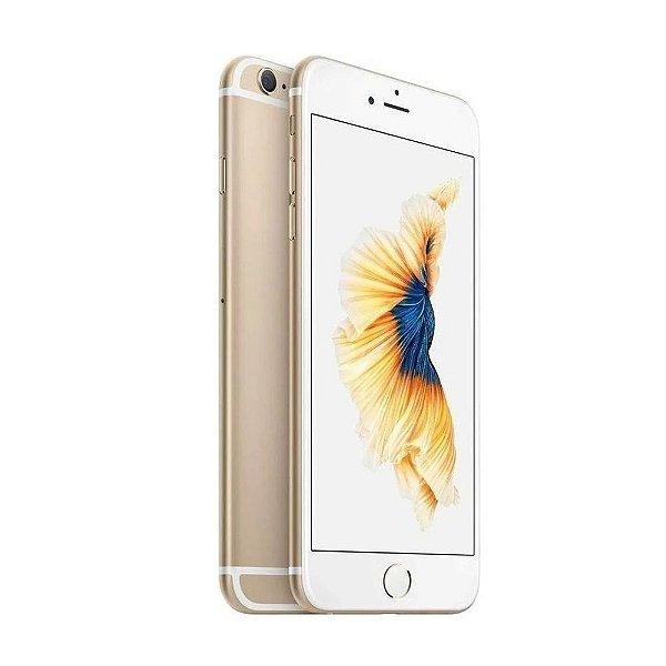 iPhone 6s Plus Apple 32GB Dourado 4G Tela 5.5-Câm. 12MP + Selfie 5MP
