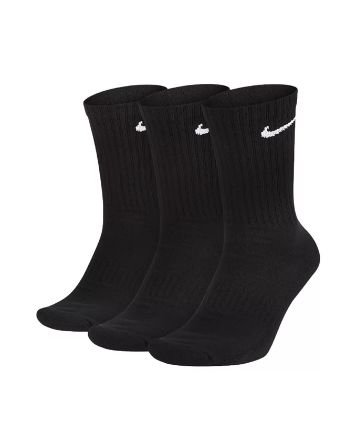 Meia Nike Cano Longo Kit Com 3 Pares Dri-fit