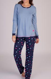 Pijamas Podiun  215151 Calça E Manga Longa