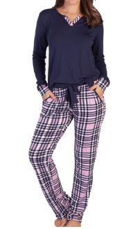 Pijamas Podiun  215155 Calça E Manga Longa