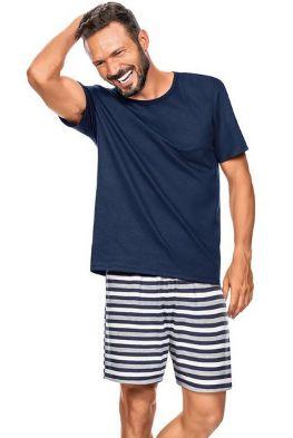 Pijama Zee Rucci Zr3300-021-1589 White & Blue Stripes