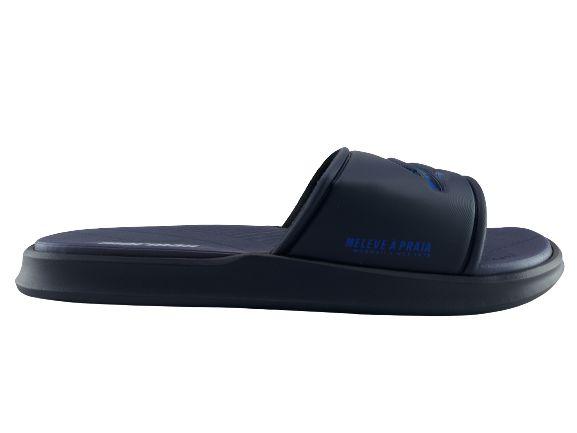 Chinelo Mormaii 11406 Quiver Pro Gaspea Preto/azul