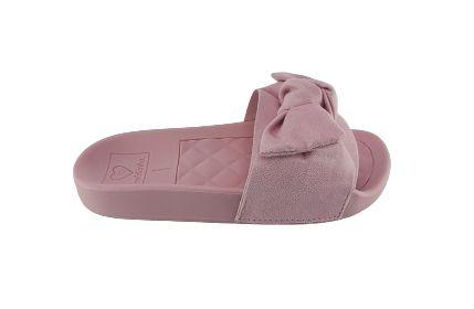 Chinelo Infantil Slide Molekinha Laço 2311.103 - Rosa