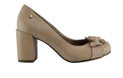 Sapato Bebece Salto Bloco Feminino 6514-227