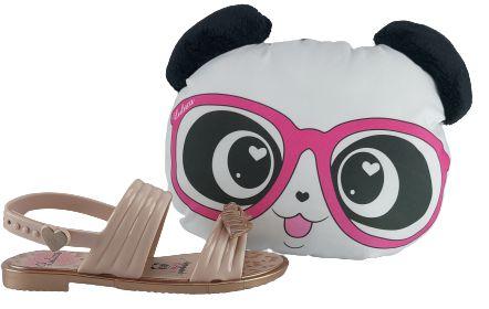 Sandalia Infantil Grendene Luluca Panda Love 22168