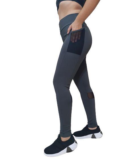 Legging Dusell 5694 Tule Com Bolso