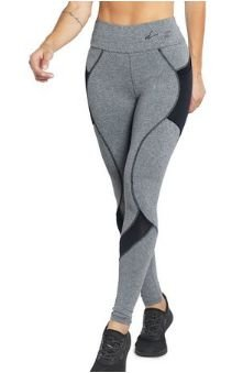 Legging Dusell 5773 Fit Com Quadrile Bolso Lateral
