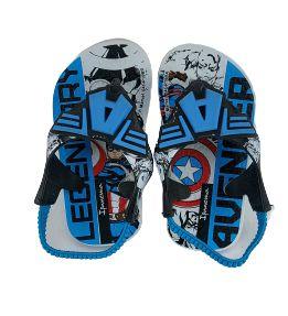 Chinelo Ipanema Avengers Baby 26432 - Branco/azul