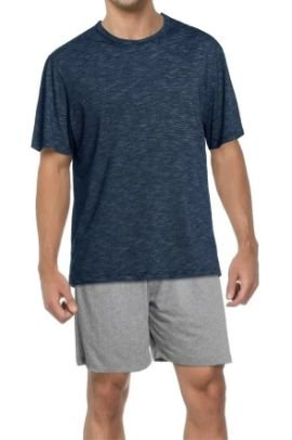 Pijama Zee Rucci 3300-001 Curto Masculino Blue Stripes