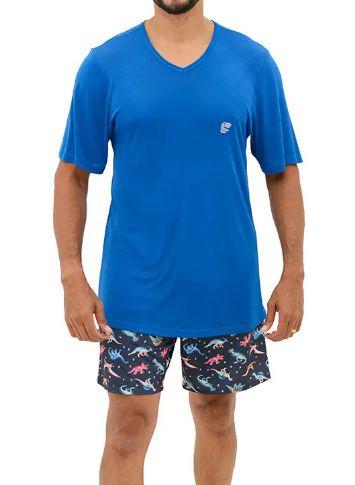 Pijama Paulienne F320.63b Curto Masculino Sublime
