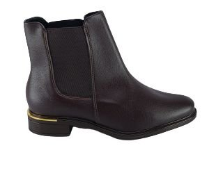Bota Vizzano Ankle Boot Feminina Salto Baixo 3077.100