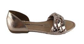 Sandalia Dakota Z7021 Tiras Trançadas Cores - Preto/cobre
