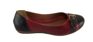 Sapatilha Percurso 764 - Brown C/ Vermelho