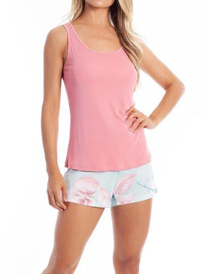 Pijama Paulienne 069.63-b72 Short Dool Regata Cavada