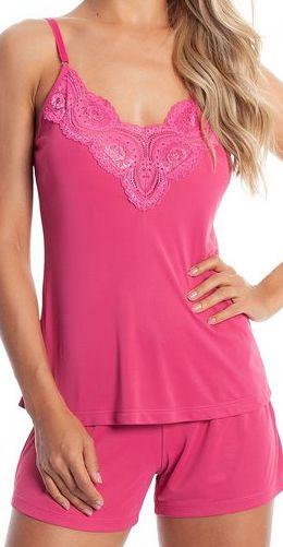 Pijama Paulienne P.174.63.a Camisola Decote Renda Elegance