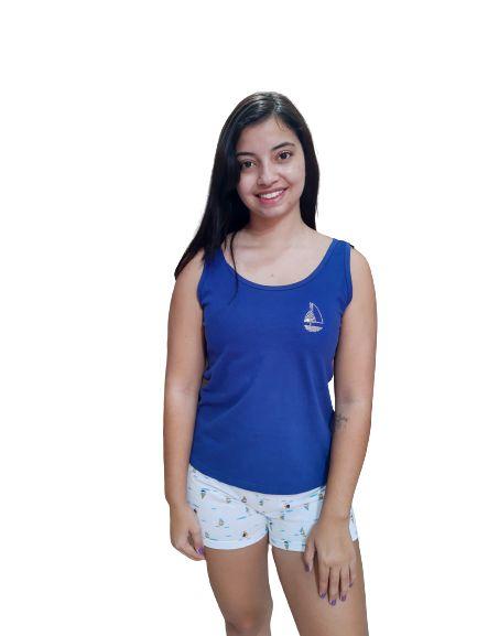 Pijama Paulienne N.l7.280.60 Short Doll Regata