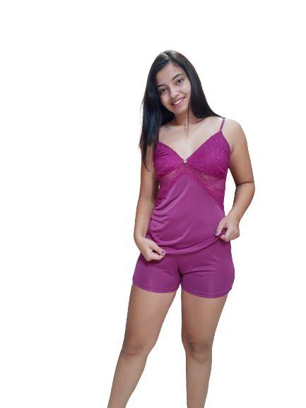 Pijama Julia Moraes 75083 Short Dool Torda