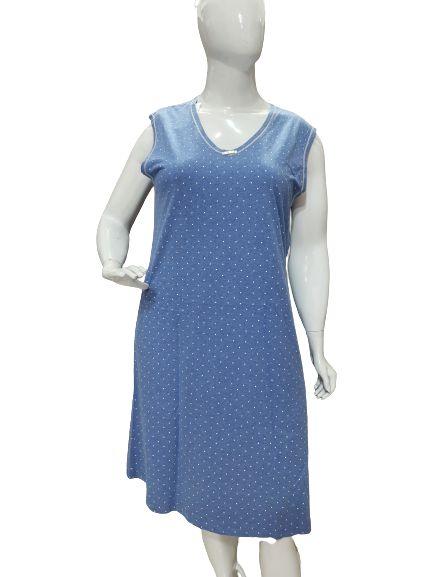 Pijama Paulienne C.110.61.a Fechada Em Poa Algodao