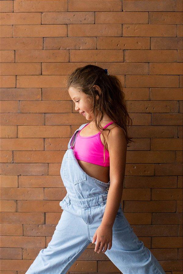 Top Infantil curto