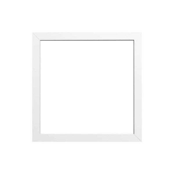 Moldura MDF Branca 20x20 cm Pronta