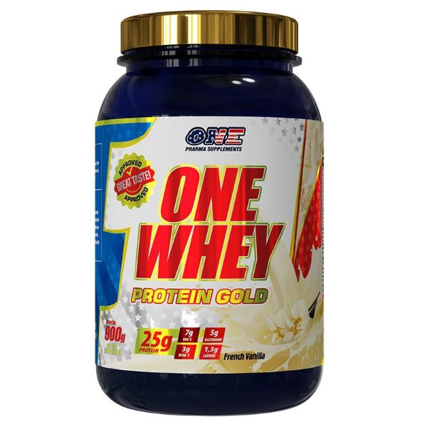 Whey Protein Gold Baunilha 900g One Pharma