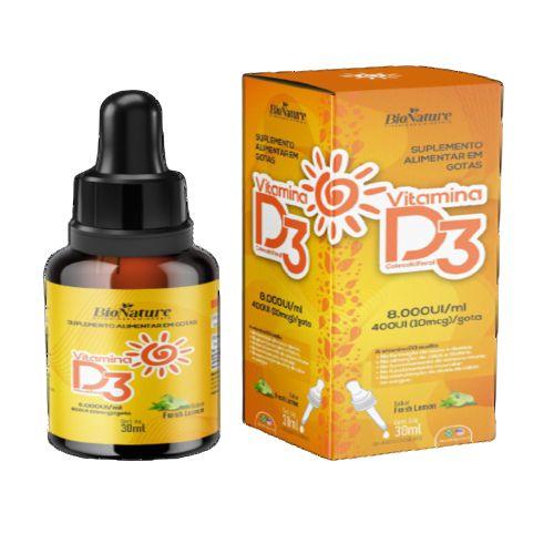 BioNature - Vitamina D3 30 ml Gotas Oleosas