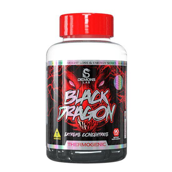 Termogenico Emagrecedor Black Dragon 90 caps