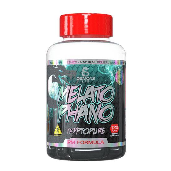 Triptofano 500mg Melatophano 120caps Demons Lab