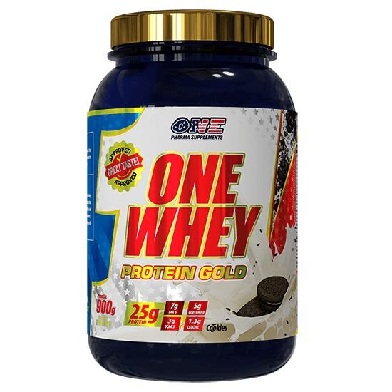 Whey Protein Gold Chocolate 900g One Pharma