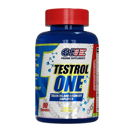Pré Hormonal Testrol One 90 caps One Pharma