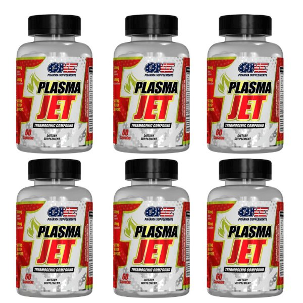 Emagrecedor Plasma Jet 360 Caps One Pharma kit 6
