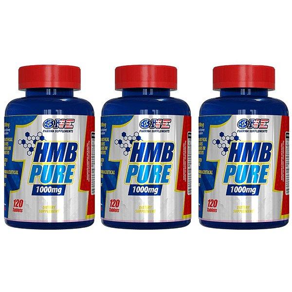 Hmb Pure 1000mg 360 Tabs One Pharma Kit 3