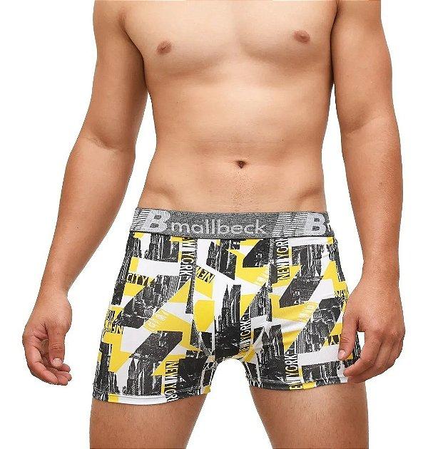 Box Showpromodia: - Kit com 10 Cuecas Boxer Premium- Microfibra - Tamanho até GG - Envio Imediato
