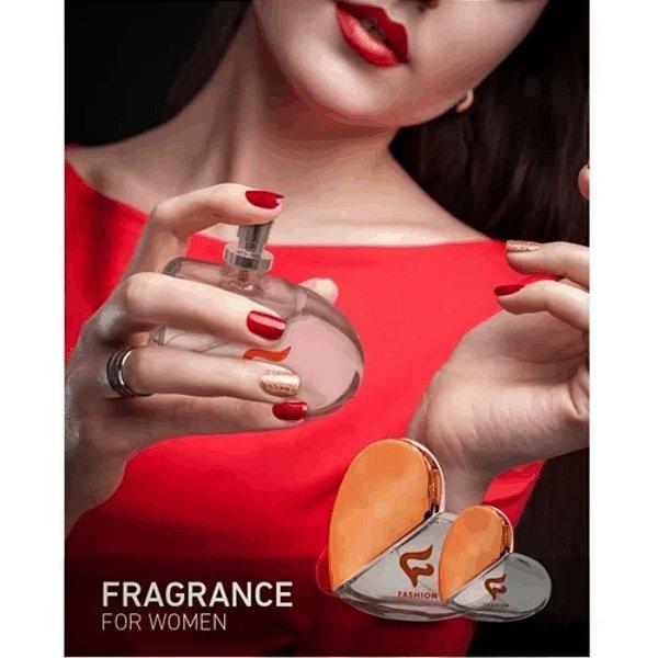 - Sucesso Shop- Kit com 8 Perfumes Heart - 3 Frangâncias - Ideal para Revenda
