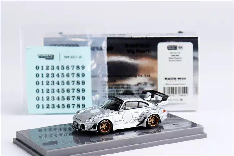 Porsche RWB 993 Silver Phantom - China Special Edition - 1:64 - TARMAC WORKS