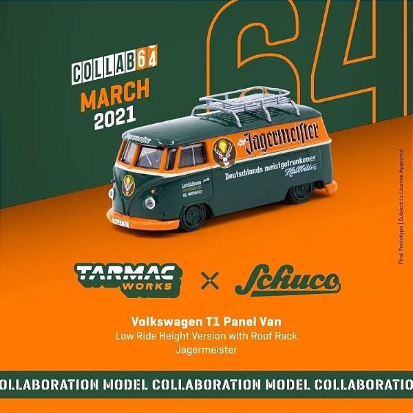 Volkswagen Kombi Jagermeister - 1:64 - TARMAC WORKS