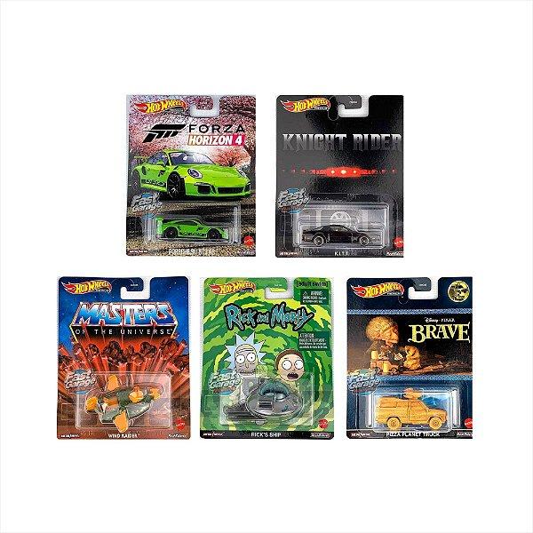 SET Retro Entertainment 7 - 5 carros - 1/64 - Hotwheels