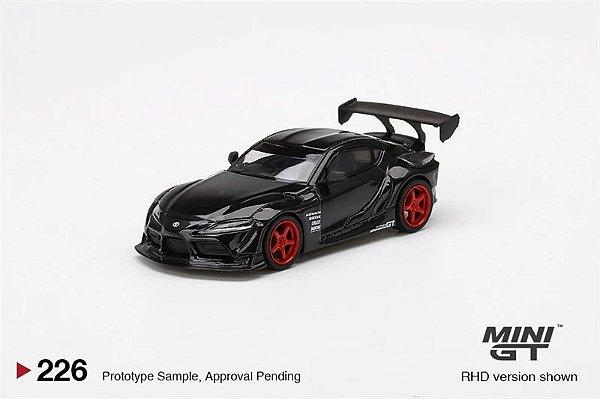 Toyota Supra GT Pandem Black - 1:64 - Mini GT