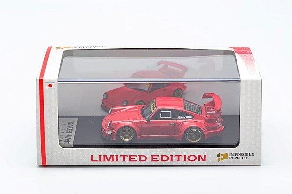 Porsche 930 RWB Vermelho 2 - 1:64 - PC Club